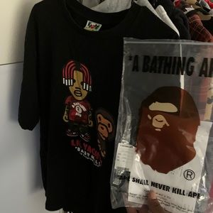 Bape Lil Yatchy Baby Milo tee 2019 authentic